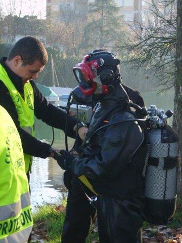 Recupero di 5 natanti affondati Mazzarini