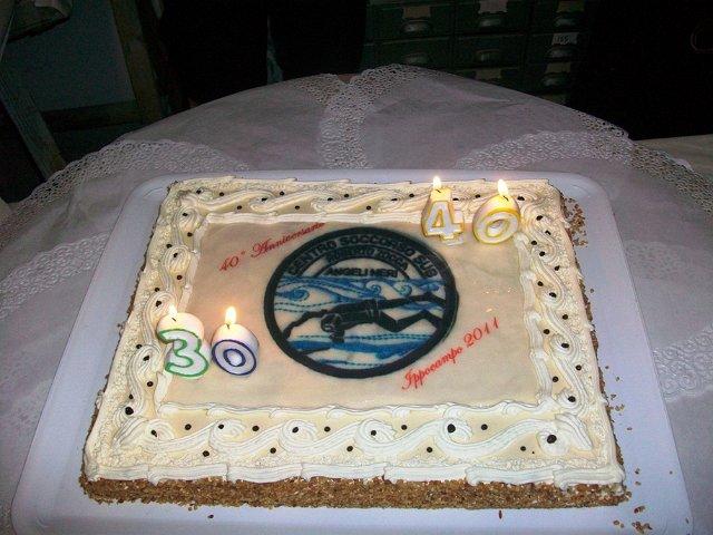 Festa 40 anni Centro Soccorso Sub