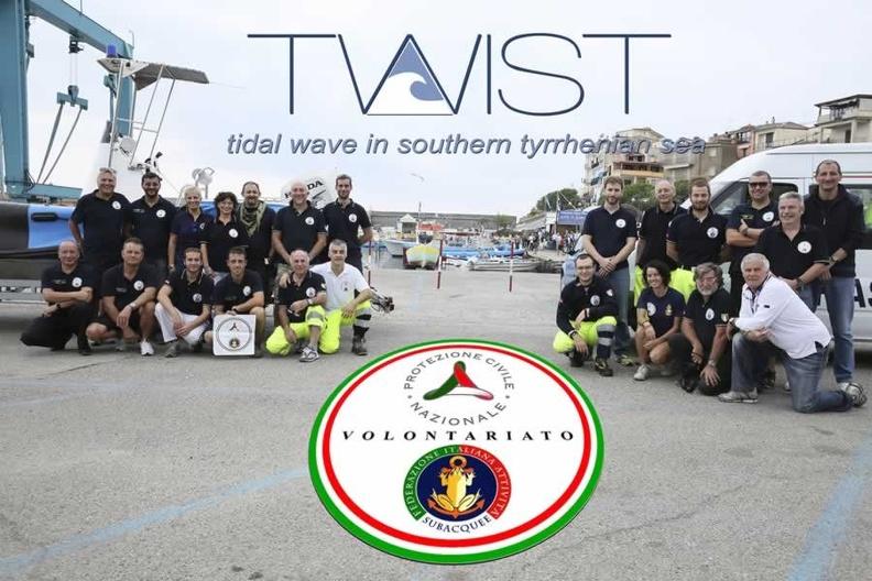 Esercitazione europea TWIST 2013 – Tidal Wave In Southern Tyrrenian Sea