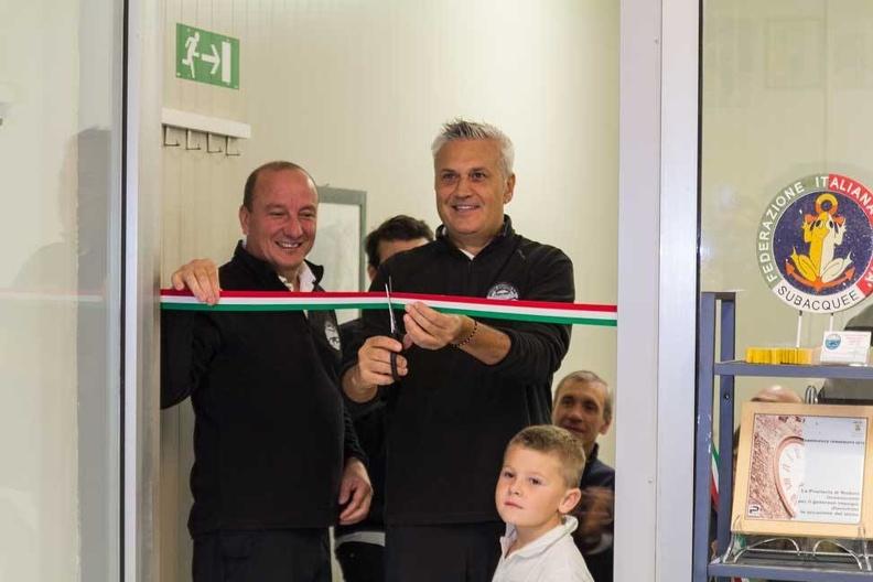 Inaugurazione del soppalco-segreteria