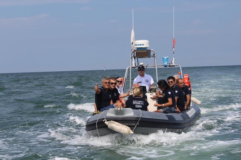Sicuramente in Mare anche con la protezione civile