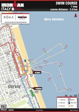 ironman emilia romagna swim new