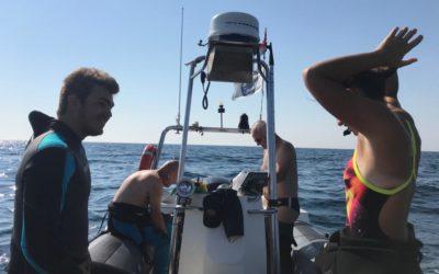 """L'area protetta """"Paguro"""" ed il CSS: immersioni di addestramento tecnico interno – estate 2020"""